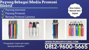 Payung Sebagai Media Promosi Efektif