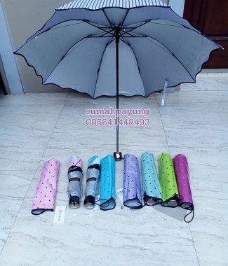 payung lipat motif coffee Bean