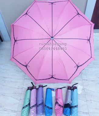 Payung Lipat Motif Pita