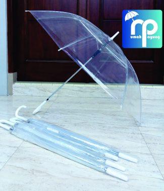 Payung Transparan Bening