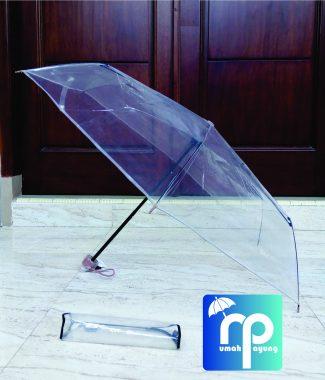 Payung Transparan Lipat