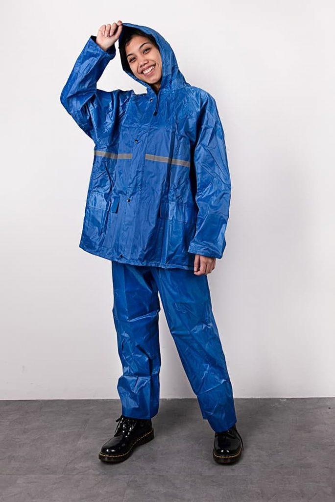 jas hujan jaket celana-8070-1 biru