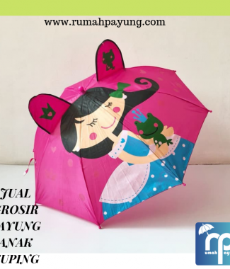 Payung Anak Kuping Motif Mix