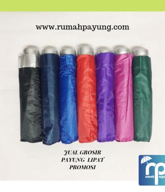 Payung Lipat 3 Dengan Sarung Dilengkapi Anti UV