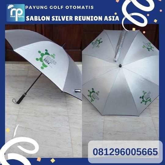 payung golf besar silver sablon reuni asia
