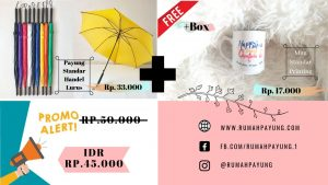 LIST HARGA PAYUNG DI PALOPO