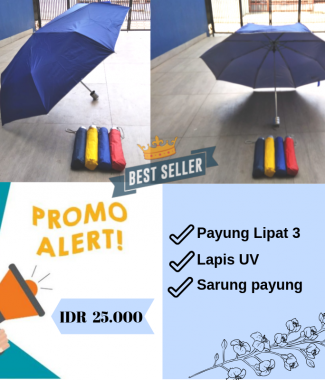 [PROMO] Payung Lipat Anti UV