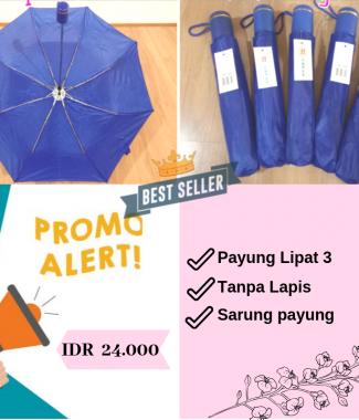 [PROMO] Payung Lipat Biru BCA