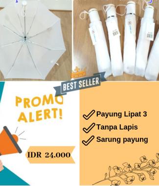 [PROMO] Payung Lipat Putih
