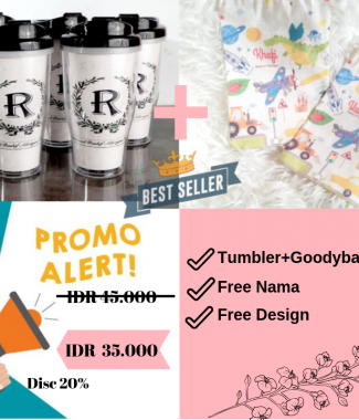 Tumbler + Goodybag