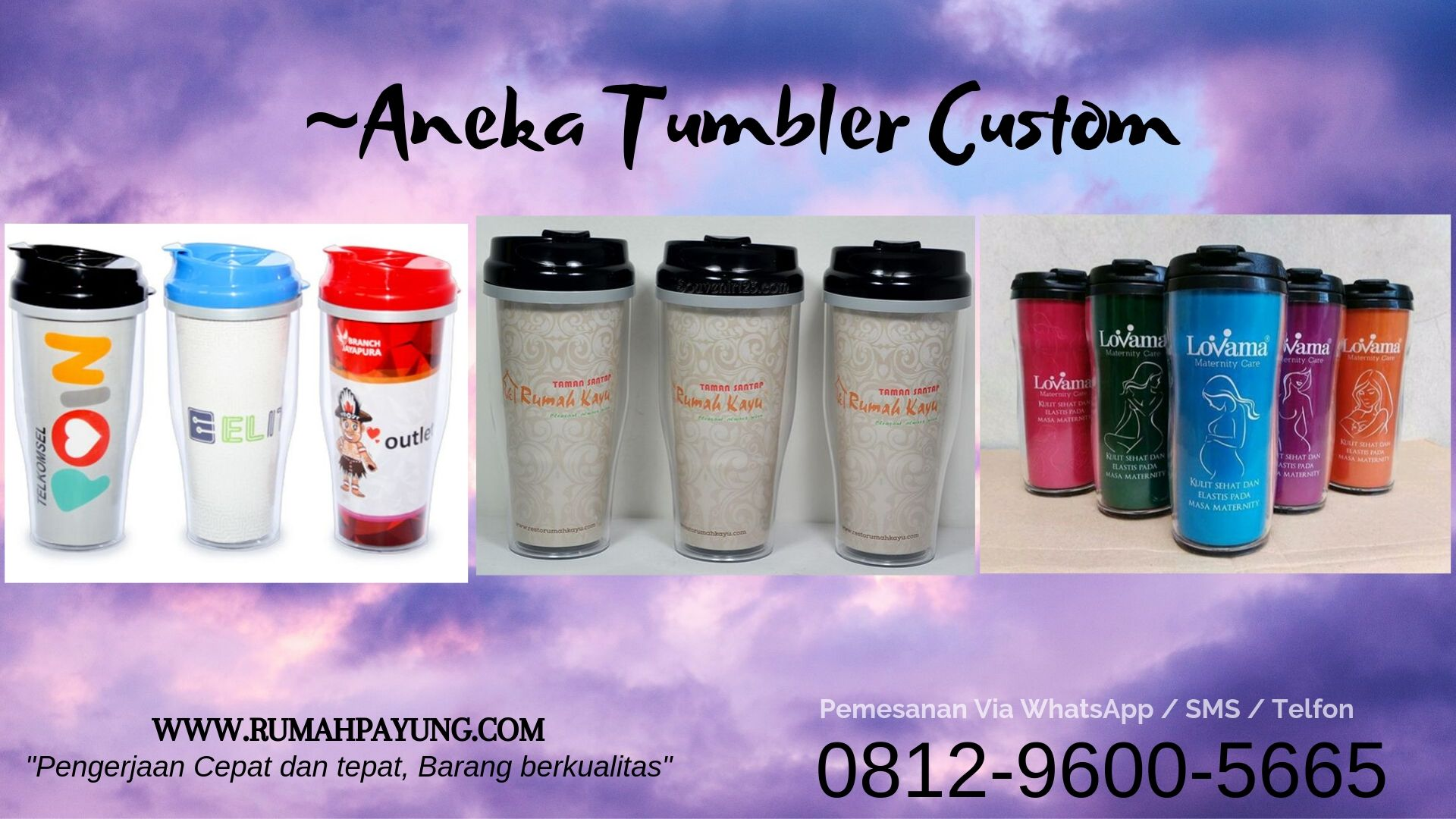 "JUAL GROSIR TUMBLER CUSTOM DESIGN LOGO HARGA TERMURAH DI SALATIGA<span class=""rating-result after_title mr-filter rating-result-12389"">			<span class=""no-rating-results-text"">No ratings yet.</span>		</span>"