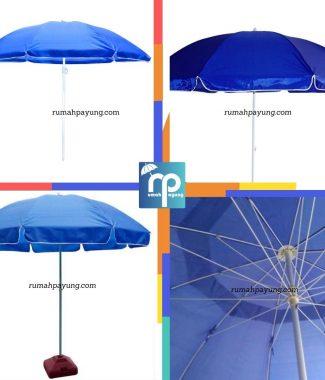payung tenda biru payung pantai/bazar/cafe/pkl