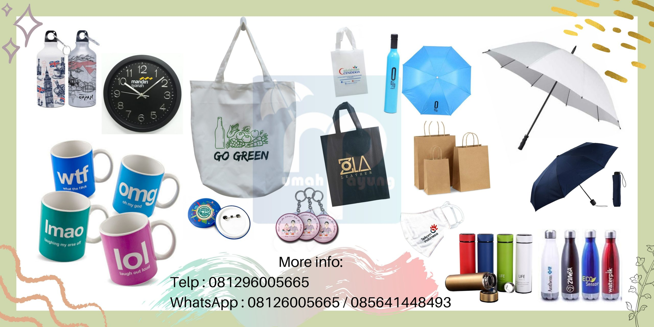 Supplier Souvenir Promosi & Supplier Merchandise Promosi